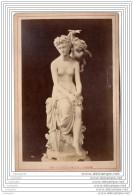 Exposition Universelle De 1878 A Paris - Photo Sur Carton - Tentation D Amour - Italie Italia - Fotos