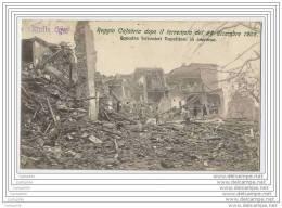 ITALIE - Reggio Calabria Dopo Il Terremoto Del 28 Dicembre 1908 - Squadra Ferrovieri Napolitani In Soccorso - Reggio Calabria