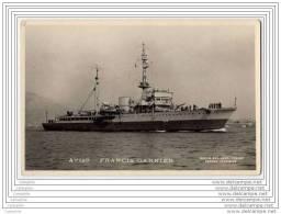 Torpilleur FRANCIS GARNIER - Guerre
