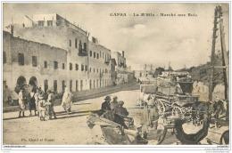 TUNISIE - GAFSA - La M Sila - Marche Aux Bois (attelage) - Tunisie