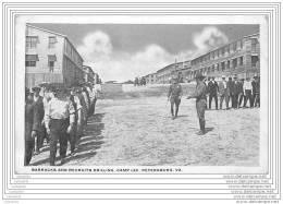 USA - Barracks And Recruits Drilling, Camp Lee, Petersburg VA - Military - Richmond