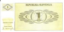 SLOVENIE 1 TOLAR 1990 UNC P 1 - Slovenia