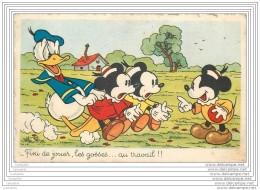 Walt Disney - Donald - Fini De Jouer Les Gosses.... Au Travail !! - Non Classificati