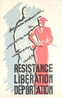 Memorial Departemental De La Resistance Et De La Deportation Avec Timbre Du Memorial - Guerra 1939-45