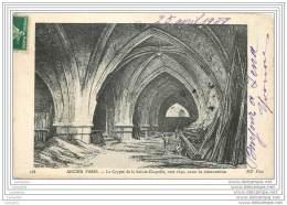 75 - ANCIEN PARIS N°488 - Crypte De La Sainte Chapelle 1840 - France