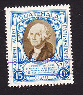 Guatemala, Scott #C92a, Used, George Washington, Issued 1938 - Guatemala