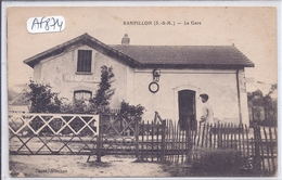 RAMPILLON- LA GARE- GROS PLAN - France