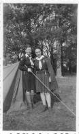 PHOTO ORIGINALE   FEMMES  SCOUTS - Plaatsen