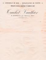 LENTILLES PRES DE BRIENNE LE CHATEAU AUBE 10  ( TRUCHET VAUTHIER ) COMMERCE DE BOIS - Non Classés
