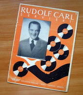 Sheet Music Germany Rudolf Carl Serviert 1944 - Music & Instruments