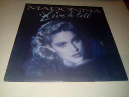 "MADONNA ""Live To Tell"" - Disco & Pop"
