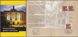 "Bund + Berlin: Minister Card - Ministerkarte Mit Mi-Nr. 2368 SST: "" Das Museum Für Kummunikation Berlin "" !      X - Covers & Documents"