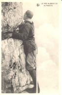 Belgique - CP - Roi Albert 1er - Alpiniste - Familias Reales