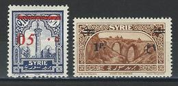 Syrie Yv. 188, 199, Mi 309, 332 * - Nuevos