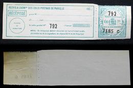 COLIS POSTAUX PARIS N° 156 TB Neuf N** Cote 55€ - Colis Postaux