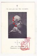 DP AVV VVK Vlaamse Beweging Predikant Publicist Jan Derk D. Nieuwenhuis Nyegaard ° Amsterdam 1870 † 1955 VNV NSB - Images Religieuses