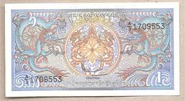 Bhutan - Banconota Non Circolata Da 1 Ngultrum P-12a.2 - 1986 - Bhoutan