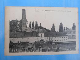 Carte Postale Gosnay Caniveau Et Fabrique De Gosnay - Artisanat