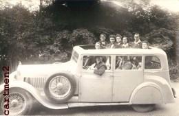 CARTE PHOTO : AUTOMOBILE VOITURE CAR DANS LA SEINE-MARITIME 76 - Voitures De Tourisme