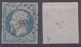PC 1280 Sur 14 - FLAVIGNY-SUR-MOSELLE (Meurthe) - Marcophilie (Timbres Détachés)
