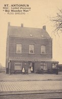 Zandhoven, Santhoven Heikant, St Antonius, Hotel Lusthof, Bij Moeder Net, Alois Ghielens, ZEER ZELDZAAM (pk47006) - Zandhoven