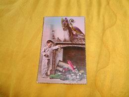 CARTE POSTALE ANCIENNE CIRCULEE DATE ?. / SCENE ENFANT JOUETS ANCIENS.../ SERIE 826. VERITABLE PHOTO AU BROMURE - Jeux Et Jouets