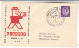 1959 GB STAMPEX Event COVER National Stamp Exhibition Westminster Stamps Philatelic Exhibition - Esposizioni Filateliche