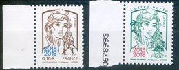 FRANCE 2018   Marianne Et La Jeunesse Surchargée 2013 2018 - Neufs