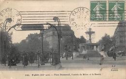 Paris 12 Métro Place Daumesnil FF 2461 - Arrondissement: 12