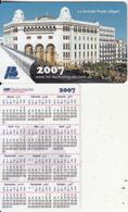 ALGERIA - La Grande Poste/Alger, Calendar 2007, HB Technologies Sample - Algeria