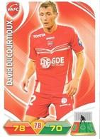 CARTE PANINI ADRENALYN XL LIGUE 1 SAISON 2012-13 – VALENCIENNES FC - DAVID DUCOURTIOUX - Trading Cards