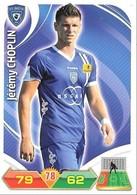 CARTE PANINI ADRENALYN XL LIGUE 1 SAISON 2012-13 – SC BASTIA - JEREMY CHOPLIN - Trading Cards
