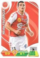 CARTE PANINI ADRENALYN XL LIGUE 1 SAISON 2012-13 – STADE DE REIMS - NICOLAS FAUVERGUE - Trading Cards
