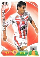 CARTE PANINI ADRENALYN XL LIGUE 1 SAISON 2012-13 – ATHLETIC CLUB AJACCIEN - BENJAMIN ANDRE - Trading Cards