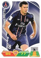 CARTE PANINI ADRENALYN XL LIGUE 1 SAISON 2012-13 – PARIS SAINT GERMAIN - THIAGO MOTTA - Trading Cards