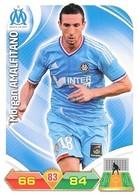 CARTE PANINI ADRENALYN XL LIGUE 1 SAISON 2012-13 – OLYMPIQUE DE MARSEILLE - MORGAN AMALFITANO - Trading Cards
