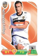 CARTE PANINI ADRENALYN XL LIGUE 1 SAISON 2012-13 – FC LORIENT - GREGORY BOURILLON - Trading Cards