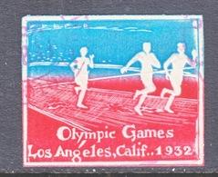 U.S.  OLYMPICS  1932  CUT  SQUARE  (o) - Summer 1932: Los Angeles