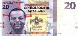 SWAZILAND P. 37b 20 E 2014 UNC - Swaziland