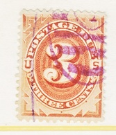 U.S.  J 3    (o)     1st Issue - Postage Due