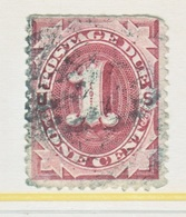 U.S.  J 15  Faults  Filler    (o)     3 Rd Issue - Postage Due