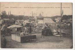 Cp EVREUX - Vue Du Concours Central Agricole 1913 - Le Pré Du Bel Ebat - Evreux