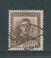 New Zealand 1938 KGVI 1&1/2d FU Large Part EGYPT 1941 Cds - 1907-1947 Dominion