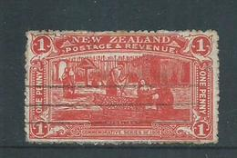 New Zealand 1906 1d Christchurch Exhibition Used , Imperfections - 1855-1907 Crown Colony