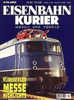 Eisenbahn Kurier 3/1996 Nr. 282 - Nürnberger Messe Highlights - Auto & Verkehr
