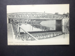 BELGIUM CARD  COUTRAI POSTMARK WEVELGHEW 1908 - Belgium
