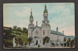 Exterior Of St An's Church, St Anne De Beaupre, Quebec - Used 1912 - Some Wear - Ste. Anne De Beaupré