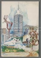 V4640 SHERATON ANKARA HOTEL TOWERS ILLUSTRAZIONE (m) - Turchia