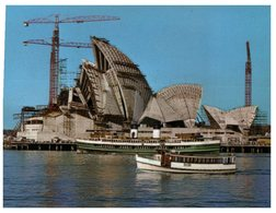 (950) Austalia - NSW - Sydney Opera House Under Construction (+ Ferry) - Opera