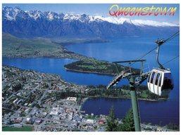 (455) New Zealand - Queenstown Lake And Gondola - Nueva Zelanda